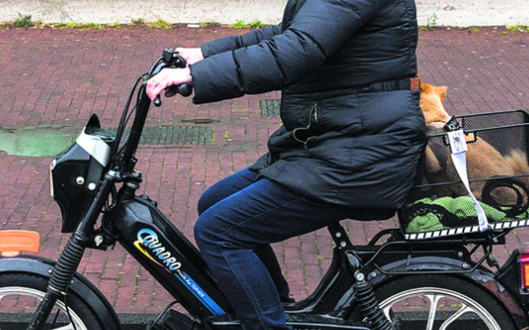 De Telegraaf: Het zit snor met het tuffen zonder helm